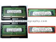 Samsung DDR3-1066 PC3-8500S 2GB Laptop Memories (1Gx2)