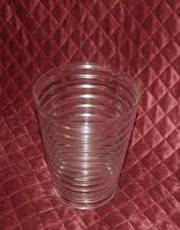 21 identical Ikea vases - clear glass - 12