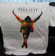 Michael Jackson This Is It Tshirt (new)