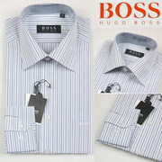 $15 Boss dress shirt, abercrombie polo shirt, Hollister long sleeve polo