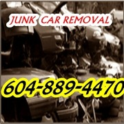 JUNK CAR REMOVAL 604-889-4470 CASH FOR JUNK CARS TRUCK VANS