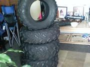 set of 4 atv (quad ) tires