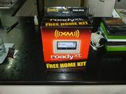 xm satellite radio kit new in box  roady xt car kit includes free home
