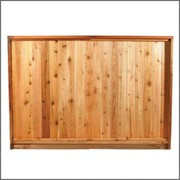 Cedar Fence Panel for Exterior Décor