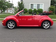 2004 Volkswagon GLS Turbo Beetle Convertible.
