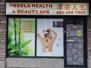Angela health & beauty Spa Grand opening 8269 Granville st Vancouver