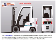 TCM Forklifts Truck In Toronto