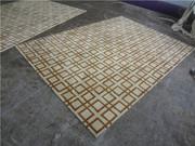 6'x9' Hand Woven Carpet Area Rug 100% Wool Rugs Elegant Classic Mat