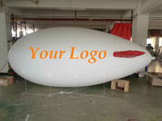 6M Inflatable Advertising Blimp /Flying Giant Helium Airplane YR Logo