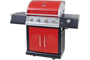 Brinkmann 4 Burner Porcelain Grill with Side Burner.