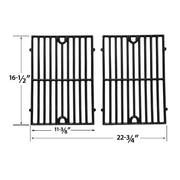 Replacement Cast Iron Cooking Grid For Ellipse,  ProChef Gas Models