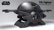The Officially Licensed Star Wars TIE Fighter Portable Gas Grill