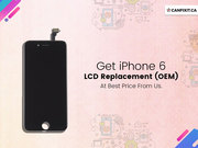 Get iPhone 6 LCD Replacement (OEM) @100 CAD