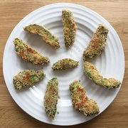 vancouver healthy foods nob, baked avocado fries