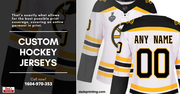 Look Like A Pro With Custom Hockey Jersey!