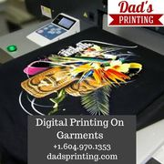 Hire Professionals For Digital Garment Printing!