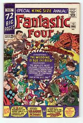 1965 MARVEL FANTASTIC FOUR ANNUAL #3.