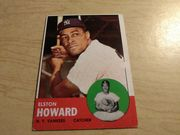 1963 Topps  #65 Elston Howard New York Yankees