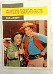 1958 GUNSMOKE TV WESTERN #3 JAMES ARNESS & DOC ADAMS
