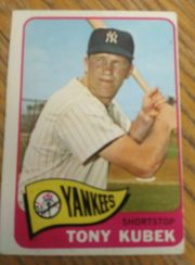 1965 Topps #65 TONY KUBEK New York Yankees