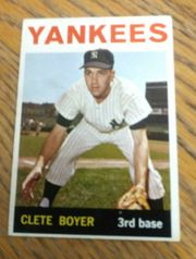 1964 Topps #69 Clete Boyer New York Yankees