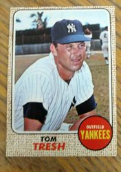 1968 Topps # 69 Tom Tresh New York Yankees