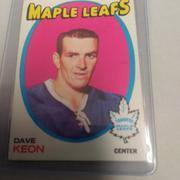 1971-72 TOPPS DAVE KEON TORONTO MAPLE LEAFS