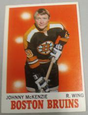 1970-71 TOPPS #6 JOHNNY MCKENZIE BOSTON BRUINS