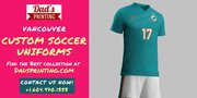 Custom Soccer Uniforms Now Changing The Look Of Games