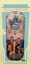 Toronto Maple Leafs Stanley Cup Collector Clock BOWER, BATHGATE, STANLEY