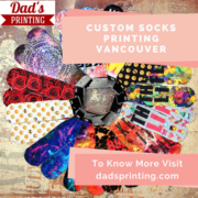 Promote Your Brand With Custom Printed Socks