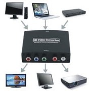 1080P HD Clear HDMI To RGB Component YPbPr Video and R/L Audio Adapter