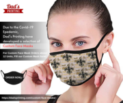 New high quality with your own design mask just by one order