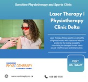 Laser Therapy | Physiotherapy Clinic Delta