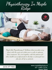 Physiotherapy In Maple Ridge