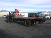 1993 GMC Flat Deck w/ 2001 cranesmart system  *ONLY 35, 000 ORIGINAL KM